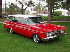 64 Comet Wagon. Gonna be my car;) for reals. Actually not even joking. Mine is a 61;)