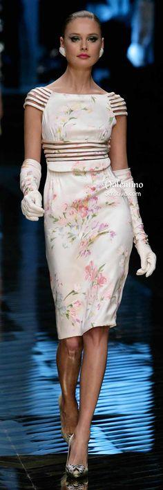 Valentino Super Pretty Floral Cocktail Dress