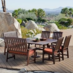 Have to have it. Coral Coast Cabos Collection Square Patio Dining Set - Seats 8 - $1299.98 @hayneedle