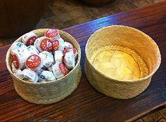 Pu erh gâteaux mini thé Tuocha fermenté, plus haut grade au total 270 grammes dans la boîte de bambou emballage, http://www.amazon.fr/dp/B0107PRFMS/ref=cm_sw_r_pi_awdl_K6P5vb0SK565H