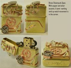 Steampunk zippo