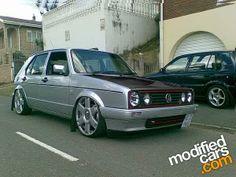 //// Volkswagen Golf Mk1, Vw Mk1, City Golf, Small Log Cabin, Golf 1, Vw Cars, Custom Cars, Luxury Cars, Mk 1