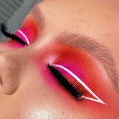 Rave Makeup, Edgy Makeup, Makeup Eye Looks, Eye Makeup Art, Colorful Eye Makeup, Makeup Goals, Skin Makeup, Makeup Inspo, Fairy Makeup