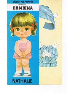 Bonecas de Papel: Coleção BAMBINA