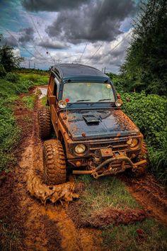A little muddy