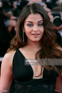 Indian movie star Aishwarya Rai at the Cannes Film Festival.