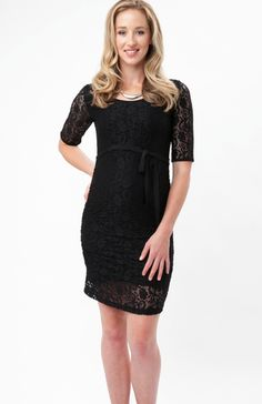 Paisley Lace Dress from Ella Bella Maternity Boutique http://ellabella.ca/collections/maternity/products/paisley-lace-dress