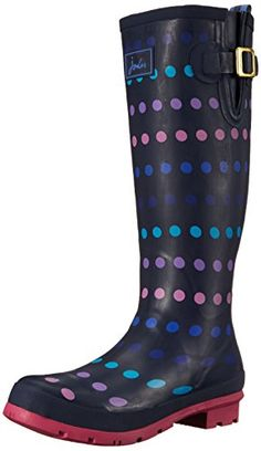 Joules Wellyprint  Botas de goma para mujer