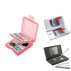 Free Shipping. Buy Insten Coral 16in1 Card Case+4 Color Stylus+2-LCD Screen Protector For Nintendo DS Lite at Walmart.com