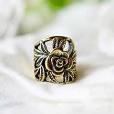 GET $50 NOW | Join RoseGal: Get YOUR $50 NOW!http://www.rosegal.com/rings/retro-style-engraving-rose-shape-78790.html?seid=6949393rg78790