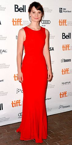Mia Wasikowska at Toronto's premier of Only Lovers Left Alive. wearing a gown by Christian Dior