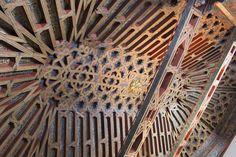 granada.artesonado la Madraza de Yusuf I