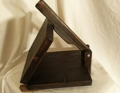 Tortilla Press – 10 inch - Ebonized Pine - Handmade in USA
