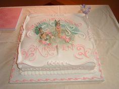 I didn't make this 1st Birthday cake!