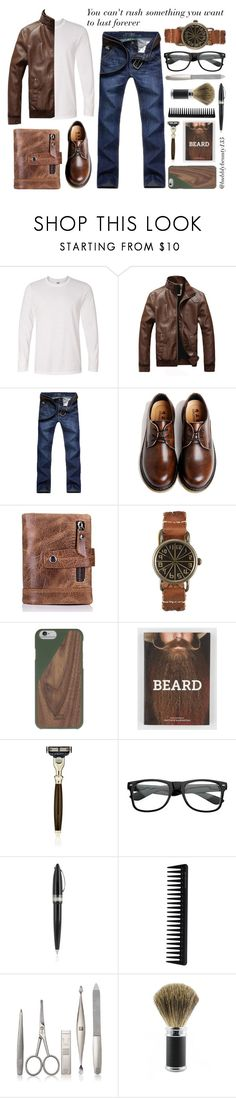 """""""NewChic ~ You can't rush something"""" by bubblybeauty135 ❤ liked on Polyvore featuring Ekphero, Native Union, The Art of Shaving, ZeroUV, Pineider, GHD, Zwilling Pour Homme, Edwin Jagger, men's fashion and menswear"""
