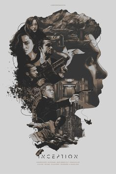 Inception illustration by Gabz (Grzegorz Domaradzki)