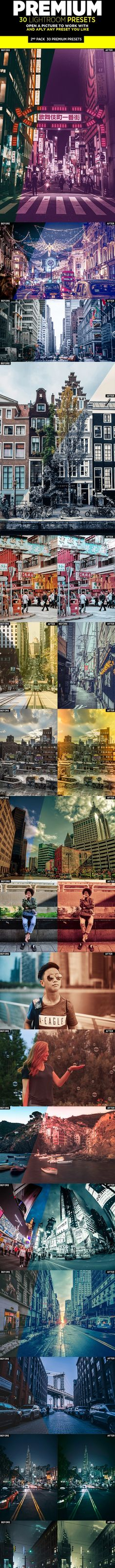 Buy 30 Premium Lightroom Presets by on GraphicRiver. This premium set of Lightroom presets includes 30 individual presets designed for every kind of images.