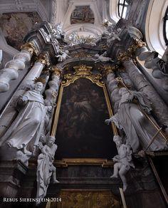 #DE #Neuzelle #KatholischePfarrkircheSanktMarien #BernadusAltar