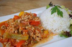 Dietetyczne Leczo z Ryżem - Szybki Fit Obiad   Sylwetka Od Kuchni