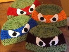 Half Shell Hero hat by karenswimmer on Etsy, $18.00