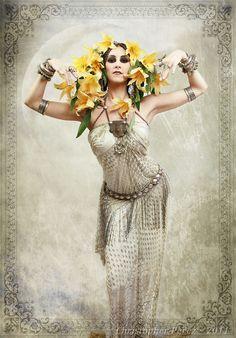 In Sumerian mythology, Ninsar (from Nin = Lady, Sar = Green(ery)) is the Goddess of Plants.