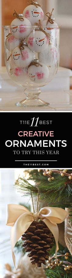 The 11 Best Creative Ornaments