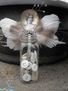 spoon angel...looks like something you would find at the  night circus