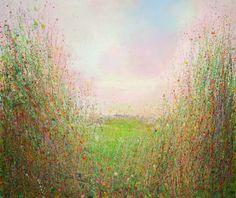 "Saatchi Art Artist Sandy Dooley; Painting, ""View To Hawkhurst  Sold (commission)"" #art"