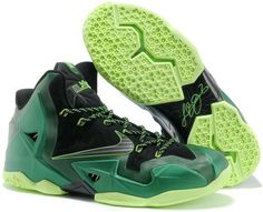 separation shoes 572d3 33dbe Nike Lebron 11 Dark Green Black Lebron 11, Nike Lebron, Lebron James, Kobe