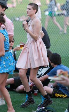 Agyness Deyn At The Coachella Music Festival Day 1