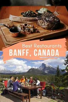 There's many top places to eat in Banff, Canada, but being a tourist town, you need to be careful. We look into the restaurants locals love. #Banff #BanffCanada #BanffNationalPark  #BanffCanadaSummer #BanffCanadaWinter #BanffRestaurants #BanffThingsToDo #BanffThingsToDoInSummer #BanffFood #BanffCanadaFood Fairmont Banff, Banff Canada, Canadian Travel, Park Resorts, Visit Canada, The Beautiful Country, Banff National Park, Foodie Travel