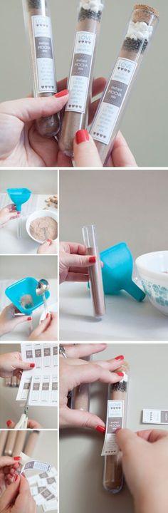 Instant Mocha Mix | 40 DIY Gift Basket Ideas for Christmas | Handmade Gift Ideas for Christmas