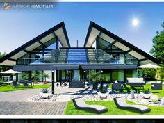 Sehen Sie sich mein #Innendesign 'RUF HAUS  HEGNAU  STYLE and DEKO BY C Mansions, House Styles, Outdoor Decor, Home Decor, Deko, Haus, Luxury Houses, Interior Design, Home Interior Design
