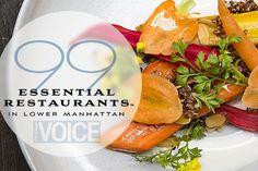 #NYC ~ 99 Essential Restaurants in Lower Manhattan   Best Restaurants in NYC   The Village Voice  http://features.villagevoice.com/99_essential_restaurants_lower_manhattan/