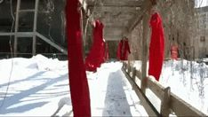 Red Dresses Draw Attention To Canadas Missing And Murdered Indigenous Women