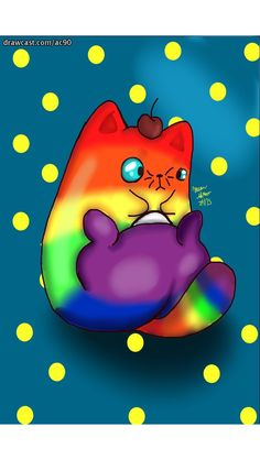 Who doesn't enjoy deeply rainbow cats. (Don't say you don't because deep deep down you know you love this guy.) Deep Down, Knowing You, Pikachu, My Arts