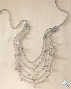 Liz Palacios Tiered Chain Necklace