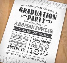 Invitaciones para tu graduación con estilo #pejotta