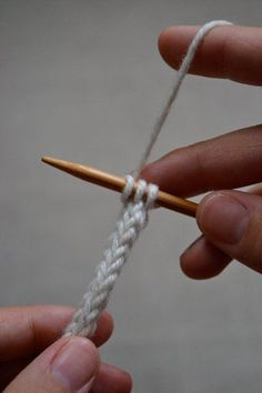 The I-cord is a tube knitted in the round with two double-pointed needles.  Elizabeth Zimmermann named it the Idiot Cord in honor of her accidental discovery of the simple technique. The I-cord is a perfect example of her attitude toward knitting: let it be fun, free of needless complications, and full of discovery. In this picture from The Opinionated Knitter, a wonderful collection of her newsletters, Elizabeth wears an I-cord attached to her glasses.  Once you learn to make one, you'll...