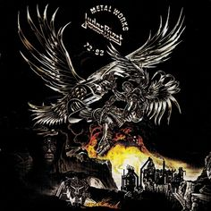 Without Judas Priest, Heavy Metal wouldn't exist as we know it today. Their influence in the development of the genre has been well-documented thanks to their… Judas Priest Albums, Screaming For Vengeance, Heavy Metal Art, Crazy Day, Metal Albums, Vinyl Music, Compact Disc, Thrash Metal, Types Of Music