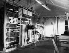 The 'Colossus' mark II computer, Bletchley Park, 1943. -- High quality art prints, canvases, postcards, mugs -- SSPL Prints