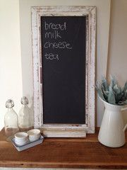 Rustic Cafe Chalkboard - a great gift for the homemaker - a great kitchen accessory!