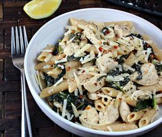 Chicken Caesar Pasta | Generation Y Foodie