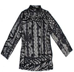 Desigual Lady Liberty jacket 27E2L19, Free Shipping at CelebrityModa.com