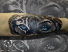 Surrealist Tiger Eyes Tattoo by: Prima #MaTattooBali #RealisticTattoo #TigerTattoo #BaliTattooShop #BaliTattooParlor #BaliTattooStudio #BaliBestTattooArtist #BaliBestTattooShop #BestTattooArtist #BaliBestTattoo #BaliTattoo #BaliTattooArts #BaliBodyArts #BaliArts #BalineseArts #TattooinBali #TattooShop #TattooParlor #TattooInk #TattooMaster #InkMaster #AwardWinningArtist #Piercing #Tattoo #Tattoos #Tattooed #Tatts #TattooDesign #BaliTattooDesign #Ink #Inked #InkedGirl #Inkedmag #BestTattoo… Fine Line Tattoos, Cool Tattoos, Bali Tattoo, Tiger Eyes, Ink Master, Fantastic Art, Piercing Tattoo, Tattoo Studio, Tattoo Artists