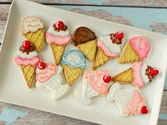 Ice-cream cookies