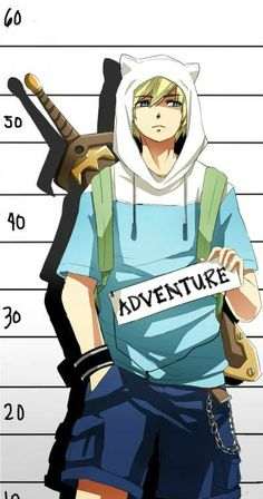 anime adventure time finn - Google Search