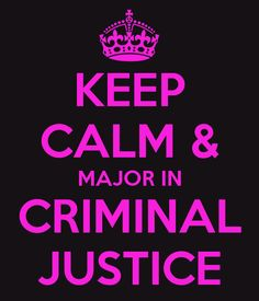 Do you have to take chemistry in college in you major in Criminal Justice?