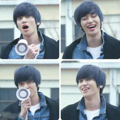 Niel meeting with his fans