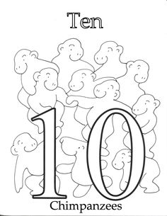 Coloring number 3 PDF printable activity for kids